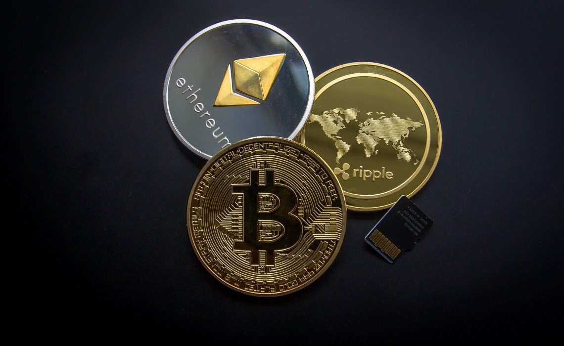 Cryptocurrency Business Finance Money Wealth Gold