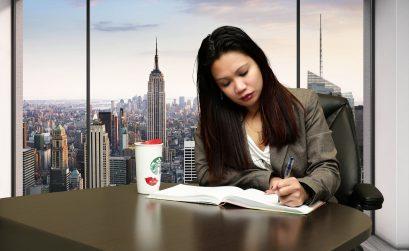 Young Girl Book Woman Education Beautiful